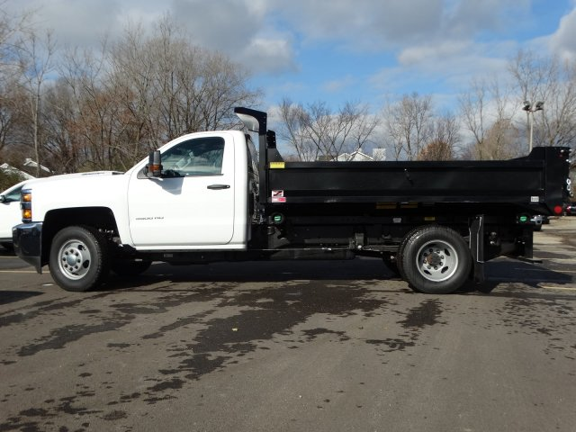 2019 Silverado 3500 Regular Cab DRW 4x4,  Monroe MTE-Zee Dump Body #66172 - photo 3