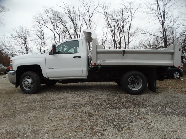2019 Silverado 3500 Regular Cab DRW 4x4,  Crysteel S-Tipper Dump Body #66260 - photo 11