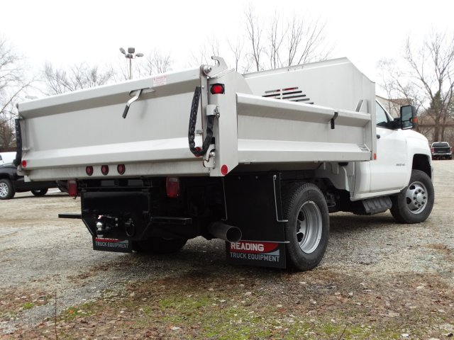 2019 Silverado 3500 Regular Cab DRW 4x4,  Crysteel S-Tipper Dump Body #66260 - photo 13