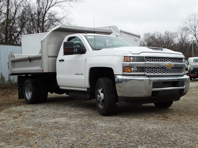 2019 Silverado 3500 Regular Cab DRW 4x4,  Crysteel S-Tipper Dump Body #66260 - photo 4
