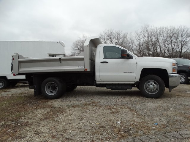 2019 Silverado 3500 Regular Cab DRW 4x4,  Crysteel S-Tipper Dump Body #66260 - photo 5