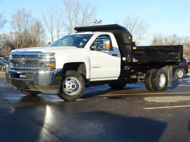 2019 Silverado 3500 Regular Cab DRW 4x2,  Monroe Dump Body #66281 - photo 1