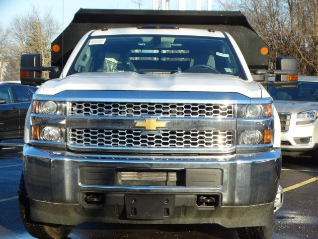 2019 Silverado 3500 Regular Cab DRW 4x2,  Monroe Dump Body #66282 - photo 4