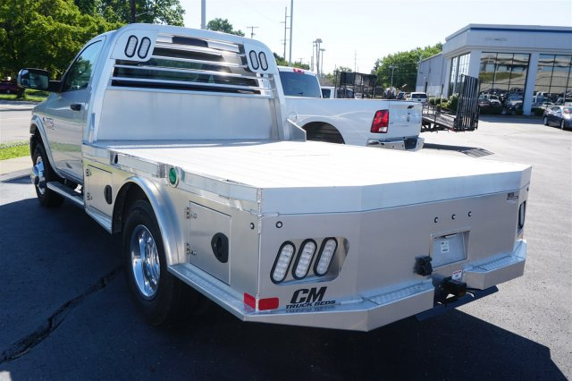 2018 Ram 3500 Regular Cab DRW 4x4,  CM Truck Beds Platform Body #D182266 - photo 17