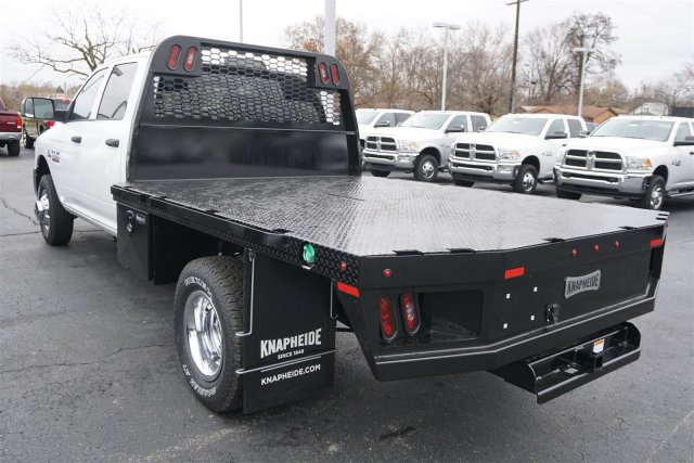 2018 Ram 3500 Crew Cab DRW 4x4,  Knapheide Platform Body #D182735 - photo 5