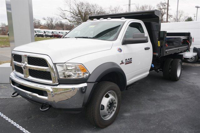2018 Ram 5500 Regular Cab DRW 4x4,  Air-Flo Dump Body #D182768 - photo 4