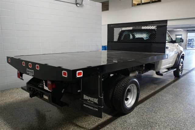 2018 Ram 4500 Regular Cab DRW 4x4,  Knapheide Platform Body #FD182149 - photo 2
