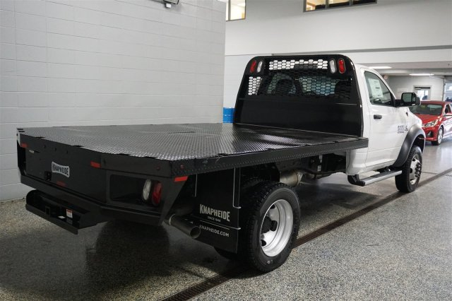 2018 Ram 4500 Regular Cab DRW 4x4,  Knapheide Platform Body #FD182151 - photo 2