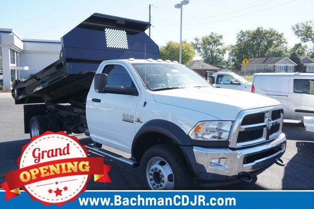2017 Ram 5500 Regular Cab DRW 4x4,  Knapheide Drop Side Dump Bodies Dump Body #FD579097 - photo 1