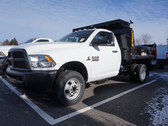 2018 Ram 3500 Regular Cab DRW 4x4, Dump Body #18055 - photo 3