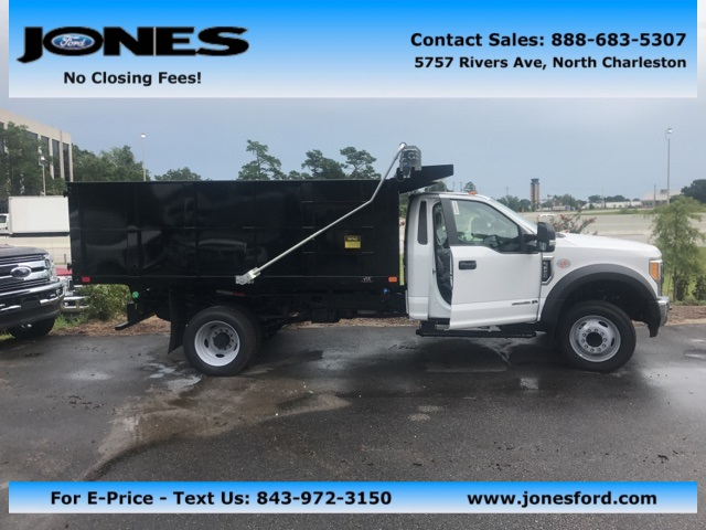 2017 F-550 Regular Cab DRW, Landscape Dump #HED46587 - photo 1