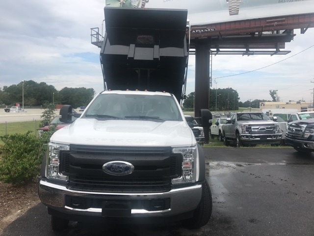 2017 F-550 Regular Cab DRW, Landscape Dump #HED46587 - photo 3