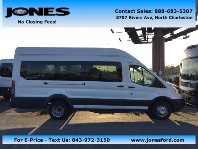 2017 Transit 350 HD DRW, Passenger Wagon #HKB52829 - photo 1