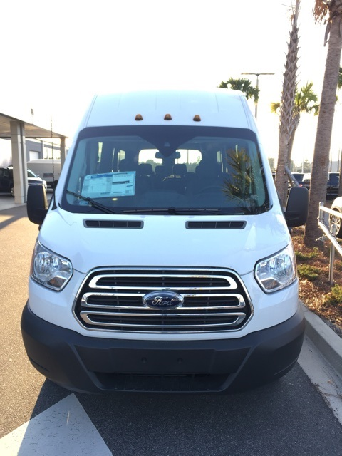 2017 Transit 350 HD High Roof DRW, Passenger Wagon #HKB52829 - photo 3