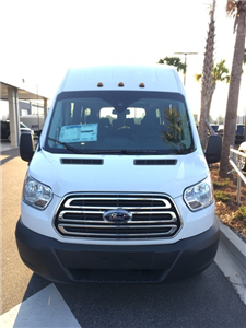 2017 Transit 350 HD DRW, Passenger Wagon #HKB52829 - photo 3