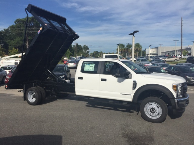 2018 F-450 Crew Cab DRW 4x4,  Knapheide Platform Body #JED03635 - photo 10
