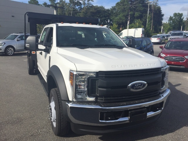 2018 F-450 Crew Cab DRW 4x4,  Knapheide Platform Body #JED03635 - photo 7