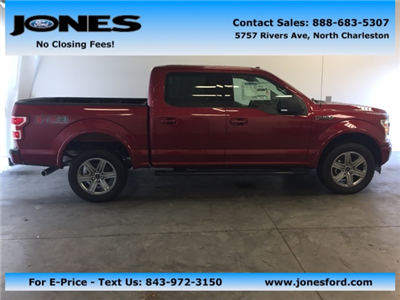 2018 F-150 Crew Cab 4x4, Pickup #JFA86839 - photo 1