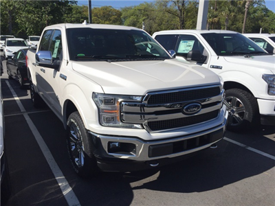 2018 F-150 SuperCrew Cab 4x4,  Pickup #JFC09161 - photo 2