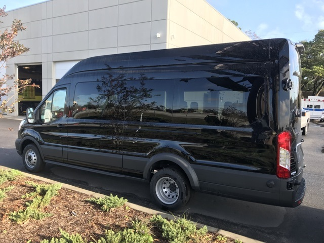 2018 Transit 350 HD High Roof DRW, Passenger Wagon #JKA22704 - photo 2