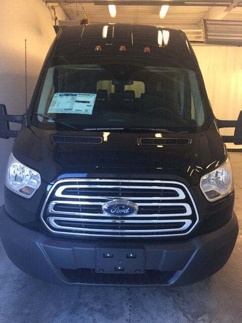 2018 Transit 350 HD High Roof DRW 4x2,  Passenger Wagon #JKB39707 - photo 8
