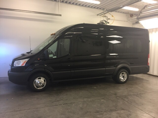 2018 Transit 350 HD High Roof DRW 4x2,  Passenger Wagon #JKB39708 - photo 3