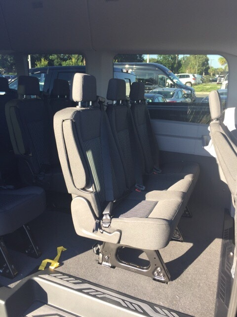 2018 Transit 350 HD High Roof DRW 4x2,  Passenger Wagon #JKB39709 - photo 14