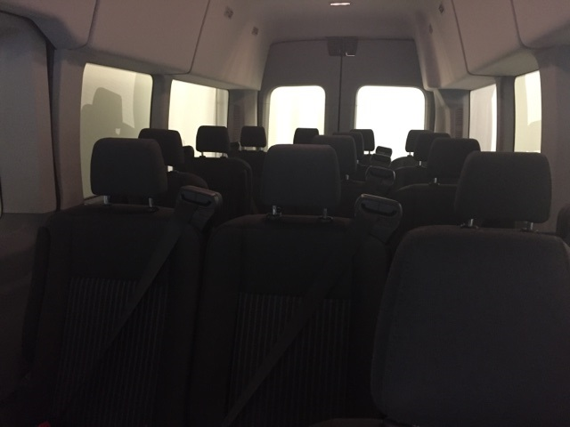 2018 Transit 350 HD High Roof DRW 4x2,  Passenger Wagon #JKB39712 - photo 11