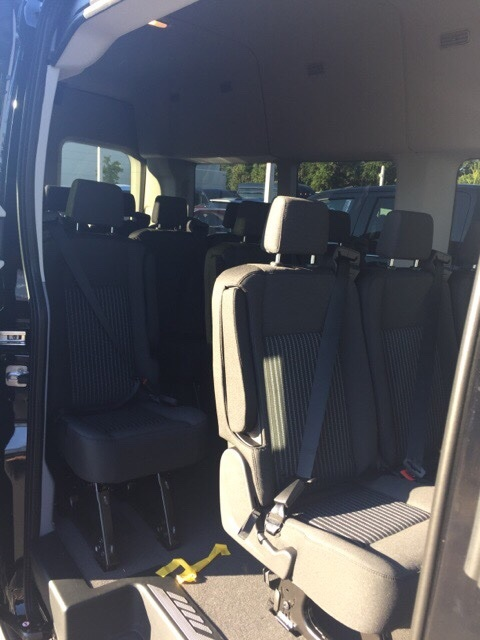 2018 Transit 350 HD High Roof DRW 4x2,  Passenger Wagon #JKB44962 - photo 13