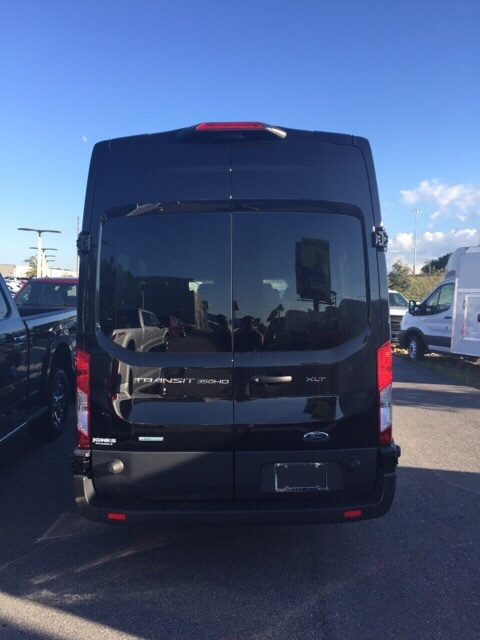 2018 Transit 350 HD High Roof DRW 4x2,  Passenger Wagon #JKB44962 - photo 4
