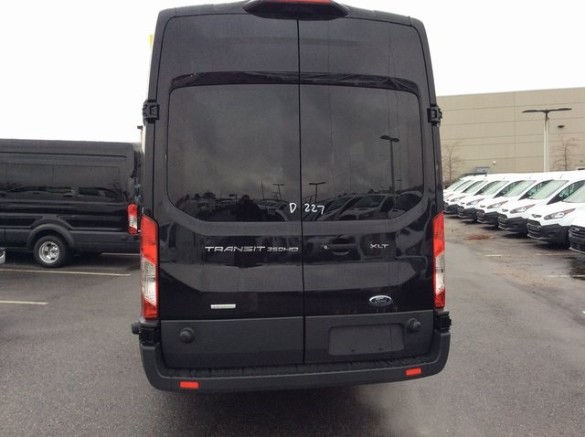 2018 Transit 350 HD High Roof DRW 4x2,  Passenger Wagon #JKB44963 - photo 4