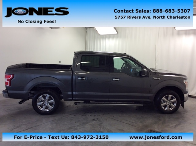2018 F-150 SuperCrew Cab, Pickup #JKC59950 - photo 1
