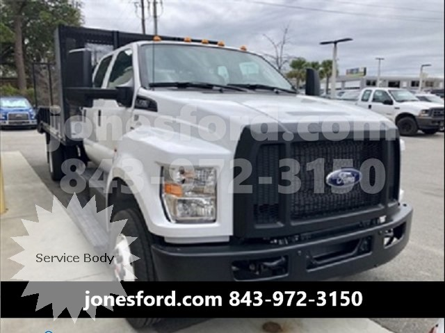 2019 Ford F-650 Crew Cab DRW 4x2, Lee Transport Equipment Dovetail Landscape #KDF05382 - photo 1