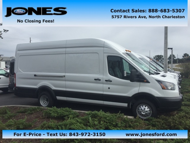 2019 Transit 350 HD High Roof DRW 4x2,  Empty Cargo Van #KKA13948 - photo 1