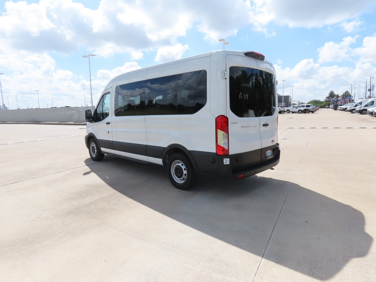 2020 Ford Transit 350 Med Roof RWD, Passenger Wagon #DT0325 - photo 1