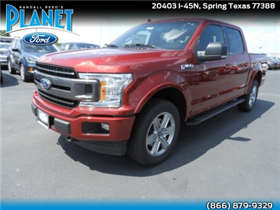 2018 F-150 SuperCrew Cab 4x4,  Pickup #J4893 - photo 1