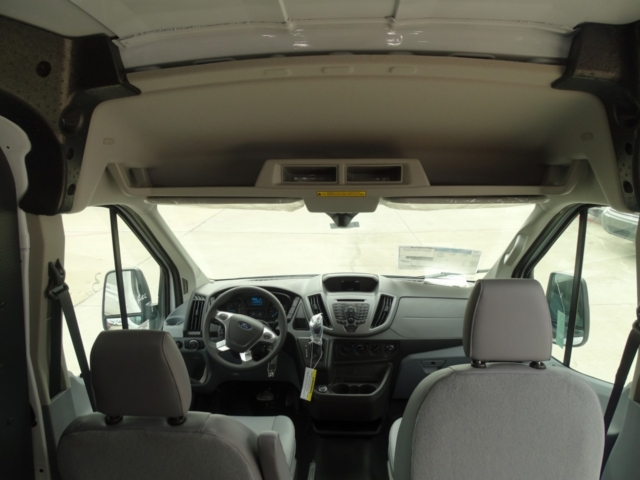 2018 Transit 250 Med Roof 4x2,  Empty Cargo Van #J5677 - photo 7
