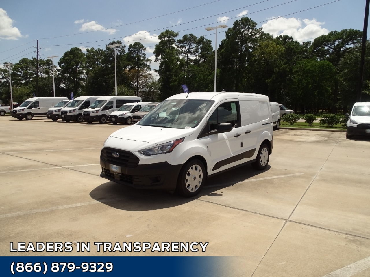 2020 Ford Transit Connect FWD, Empty Cargo Van #L3180 - photo 1