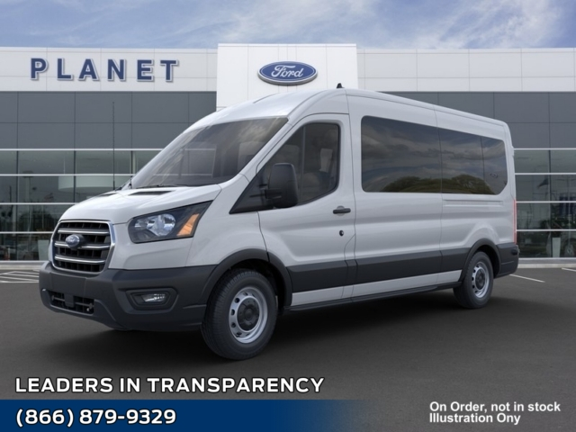 2020 Ford Transit 350 Med Roof RWD, Passenger Wagon #L3897 - photo 1
