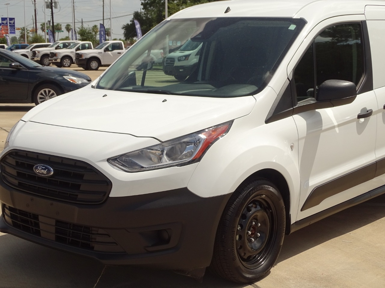 2020 Ford Transit Connect FWD, Empty Cargo Van #SDT0030 - photo 3