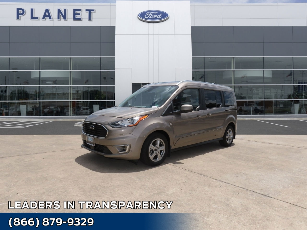 2019 Ford Transit Connect FWD, Passenger Wagon #SDT9566 - photo 1
