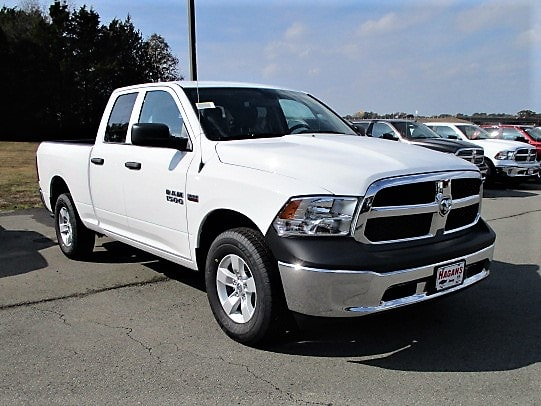 2018 Ram 1500 Quad Cab 4x4, Pickup #14658 - photo 4