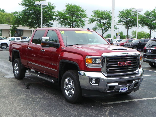 2018 Sierra 2500 Crew Cab 4x4,  Pickup #88136 - photo 4