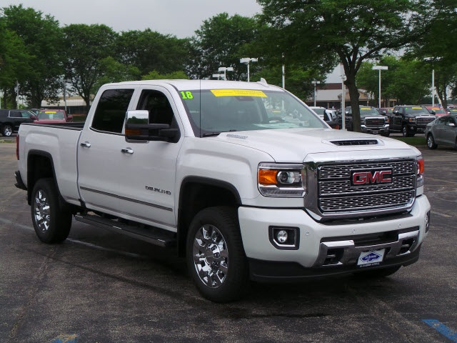 2018 Sierra 2500 Crew Cab 4x4,  Pickup #88165 - photo 4