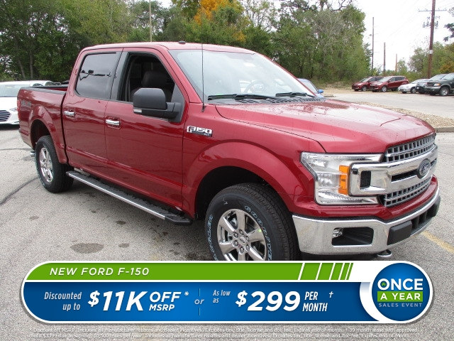 2018 F-150 Crew Cab 4x4 Pickup #F180018 - photo 1