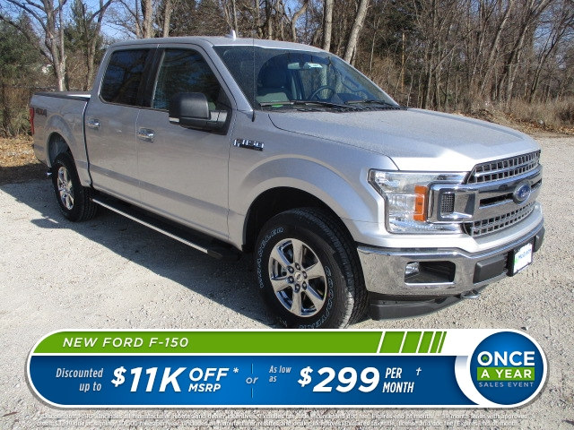 2018 F-150 Crew Cab 4x4 Pickup #F180073 - photo 1
