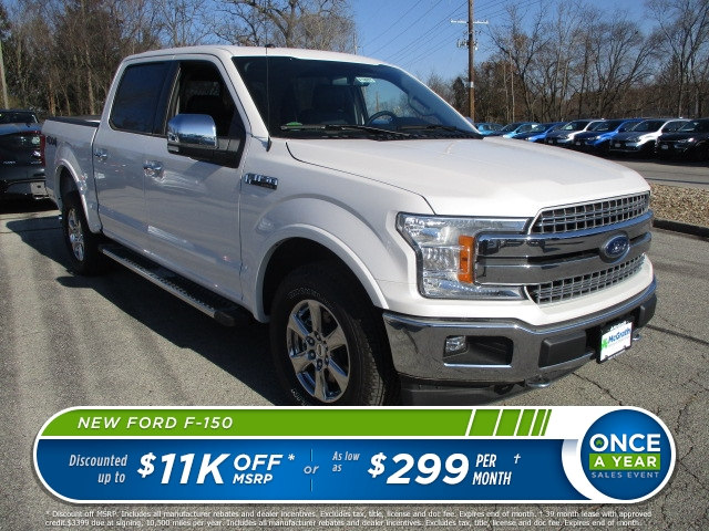 2018 F-150 Crew Cab 4x4 Pickup #F180075 - photo 1