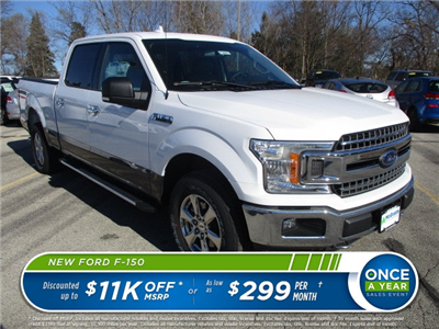 2018 F-150 Crew Cab 4x4 Pickup #F180076 - photo 1