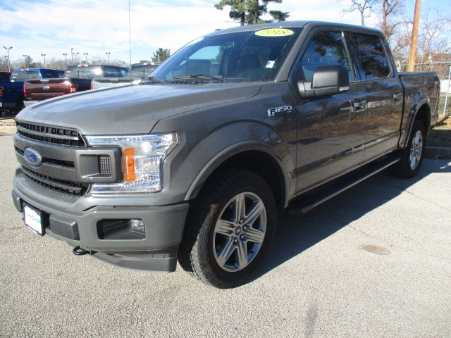 2018 F-150 SuperCrew Cab 4x4,  Pickup #F180720 - photo 4