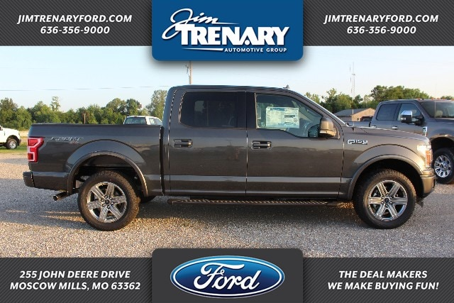 2018 F-150 SuperCrew Cab 4x4,  Pickup #MT18412 - photo 1